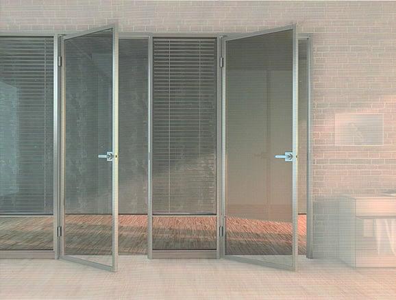 高隔間鋁框玻璃門