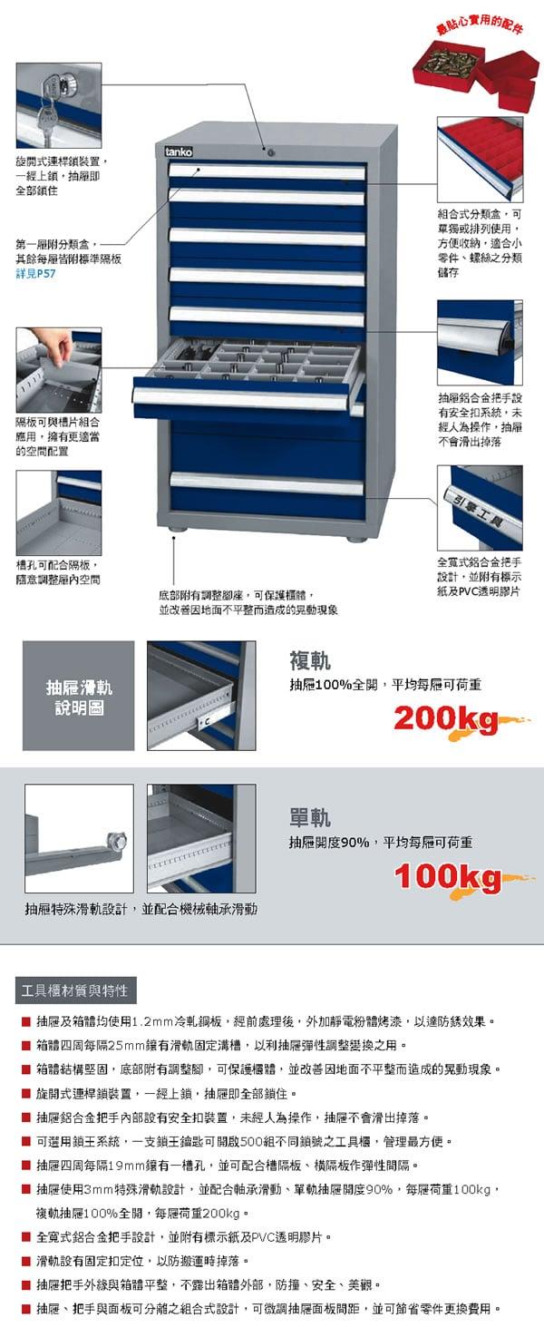 天鋼重量型工具車