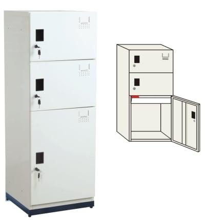 KD-123-03 多用途鋼製組合式置物櫃