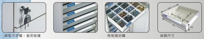 多用途鋼製組合式置物櫃