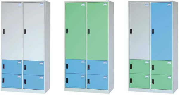 KS-5202 置物櫃.衣櫃(2大門4小門)