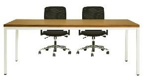 SRT實木貼皮主管桌