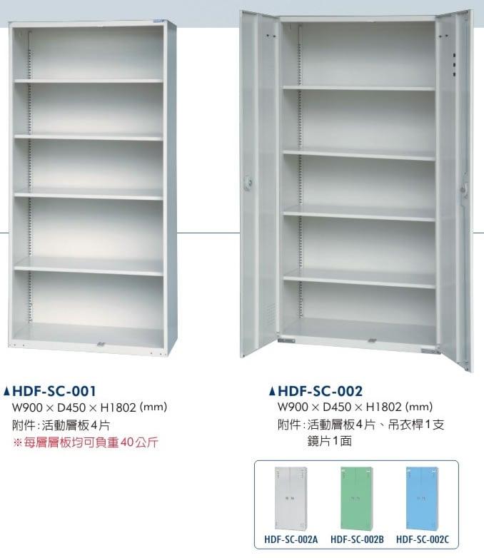 HDF-SC系列雙開門櫃