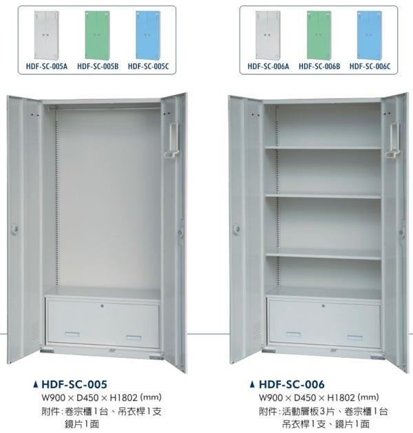 HDF-SC-005卷宗置物櫃