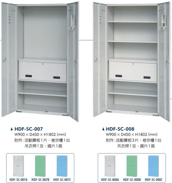 HDF-SC-007卷宗置物櫃