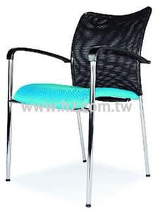 JS-B829BH 輕便洽談網椅